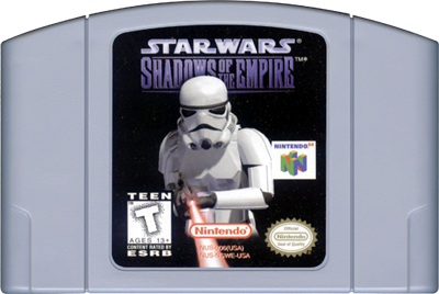 Star Wars: Shadows of the Empire - Cart - Front