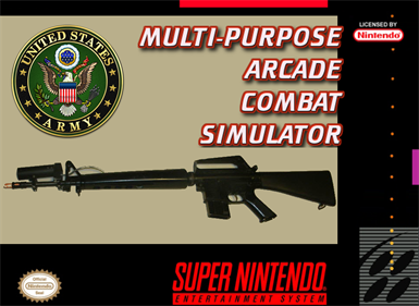 Multi-Purpose Arcade Combat Simulator - Box - Front - Reconstructed