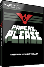 Papers, Please - Box - 3D