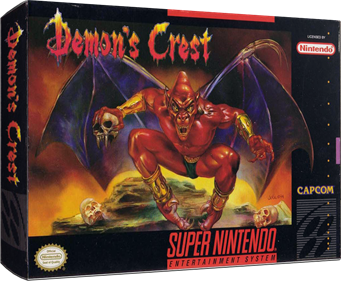 Demon's Crest - Box - 3D