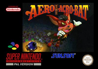 Aero the Acro-Bat - Box - Front - Reconstructed