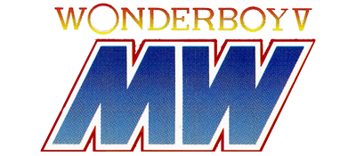 Wonder Boy in Monster World - Clear Logo