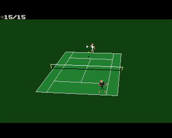 International 3D Tennis - Screenshot - Gameplay