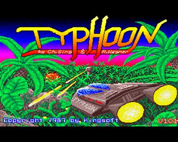 Typhoon - Screenshot - Game Title