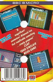 Arkanoid - Box - Back