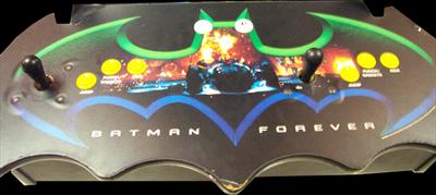 Batman Forever - Arcade - Control Panel