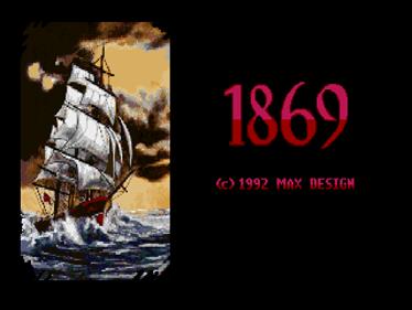 1869 - Screenshot - Game Title