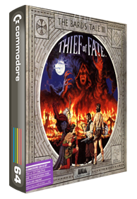 The Bard's Tale III: Thief of Fate - Box - 3D