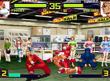 Power Instinct: Matrimelee - Screenshot - Gameplay