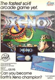 Xeno - Advertisement Flyer - Front