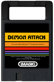 Demon Attack - Cart - Front