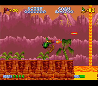 Daffy Duck: The Marvin Missions - Screenshot - Gameplay
