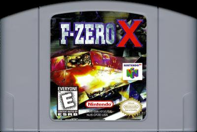 F-Zero X - Cart - Front