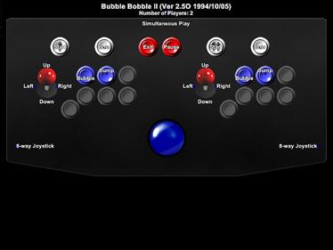 Bubble Symphony - Arcade - Controls Information