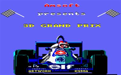 3D Grand Prix - Screenshot - Game Title