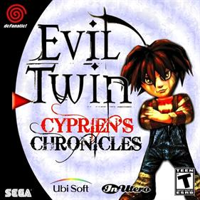 Evil Twin: Cyprien's Chronicles - Fanart - Box - Front