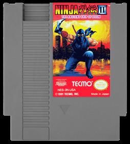 Ninja Gaiden III: The Ancient Ship of Doom - Cart - Front