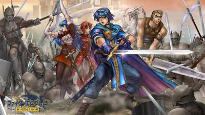 Fire Emblem: Shin Monshou no Nazo, Hikari to Kage no Eiyuu - Fanart - Background