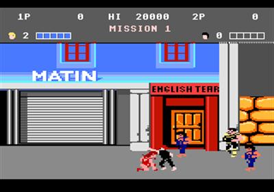 Double Dragon - Screenshot - Gameplay