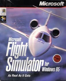 Microsoft Flight Simulator for Windows 95 - Box - Front