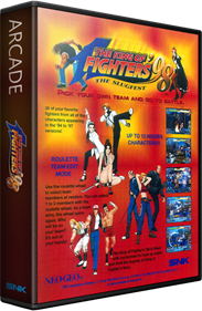 The King of Fighters '98: The Slugfest - Box - 3D