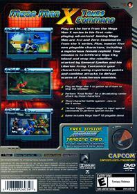 Mega Man X: Command Mission - Box - Back