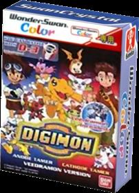 Digimon: Anode Tamer & Cathode Tamer: Veedramon Version - Box - 3D
