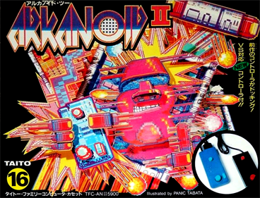 Arkanoid II - Box - Front