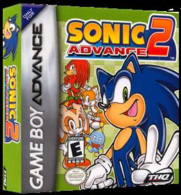 Sonic Advance 2 - Box - 3D