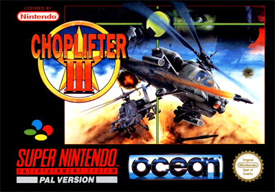 Choplifter III: Rescue-Survive - Box - Front