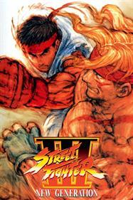 Street Fighter III: New Generation - Fanart - Box - Front