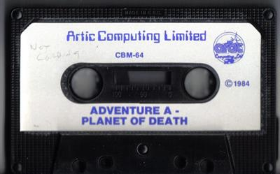 Adventure A: Planet of Death - Cart - Front