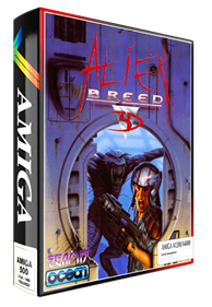Alien Breed 3D - Box - 3D