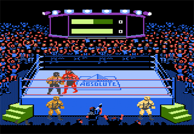 Title Match Pro Wrestling - Screenshot - Gameplay