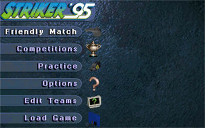 Striker '95 - Screenshot - Game Title