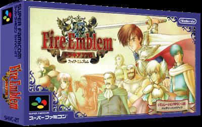 Fire Emblem: Thracia 776 - Box - 3D