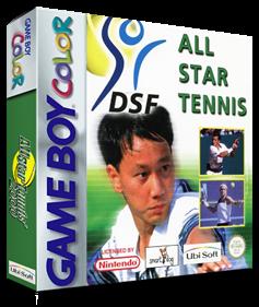 All Star Tennis 2000 - Box - 3D