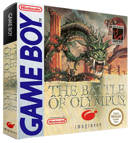 The Battle of Olympus - Box - 3D