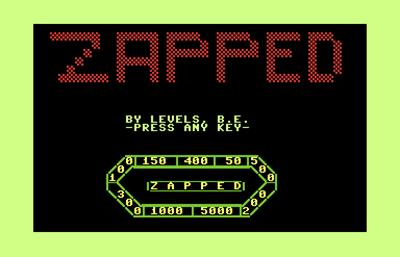 Zapped 128 - Screenshot - Game Title