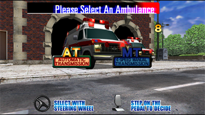 Emergency Call Ambulance - Screenshot - Game Select