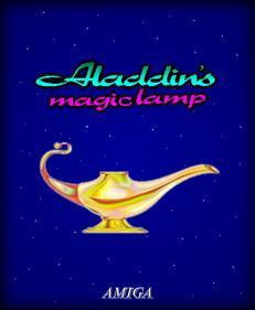 Aladdin's Magic Lamp - Fanart - Box - Front