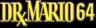 Dr. Mario 64 - Clear Logo