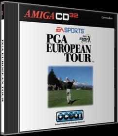PGA European Tour - Box - 3D