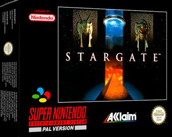 Stargate - Box - 3D