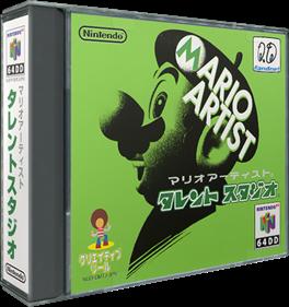 Mario Artist: Talent Studio - Box - 3D