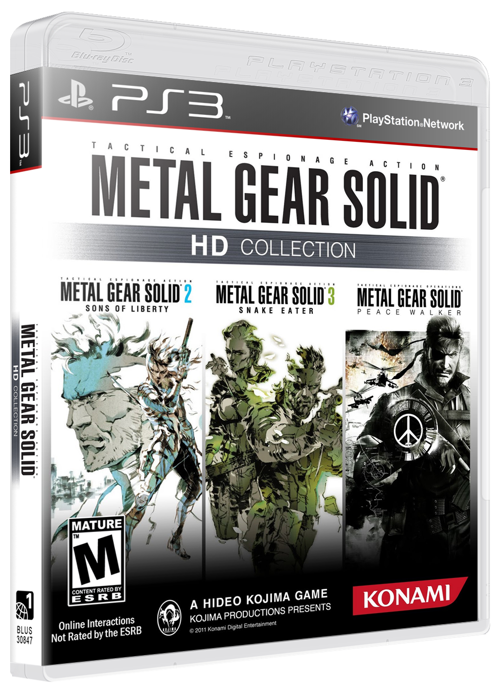 Metal Gear Solid HD Collection Review (PS3)   Push Square