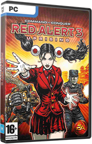 Command & Conquer: Red Alert 3: Uprising - Box - 3D