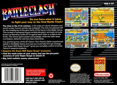 Battle Clash - Box - Back