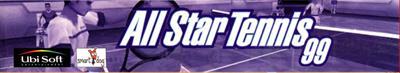 All Star Tennis 99 - Banner