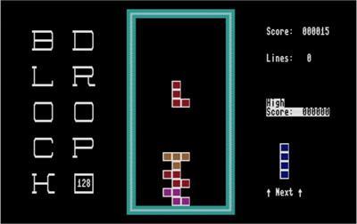 Block Drop 128 - Screenshot - Gameplay